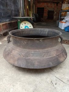 Nồi đồng xưa nặng 16kg đồng của...