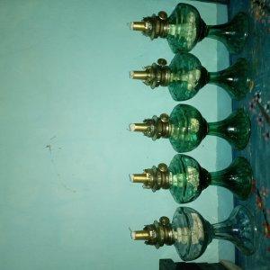 Giao lưu:5 đèn dầu xưa thấp...