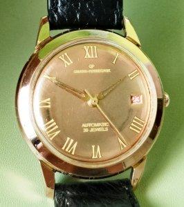 Đồng hồ GP bọc vàng hồng mặt...