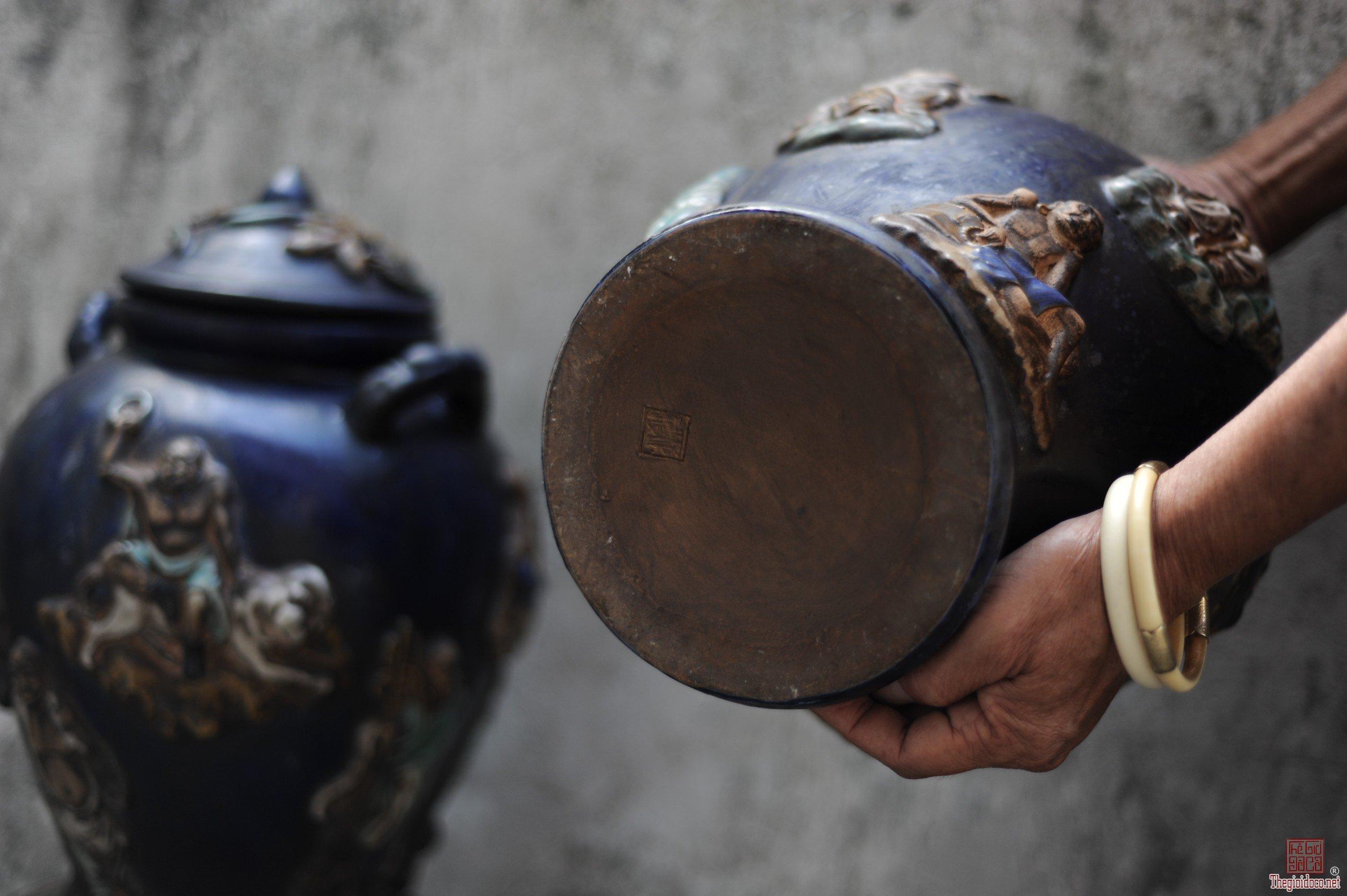 Thanh lý các sản phẩm gốm Biên Hòa Nam Bộ Lái Thiêu xưa