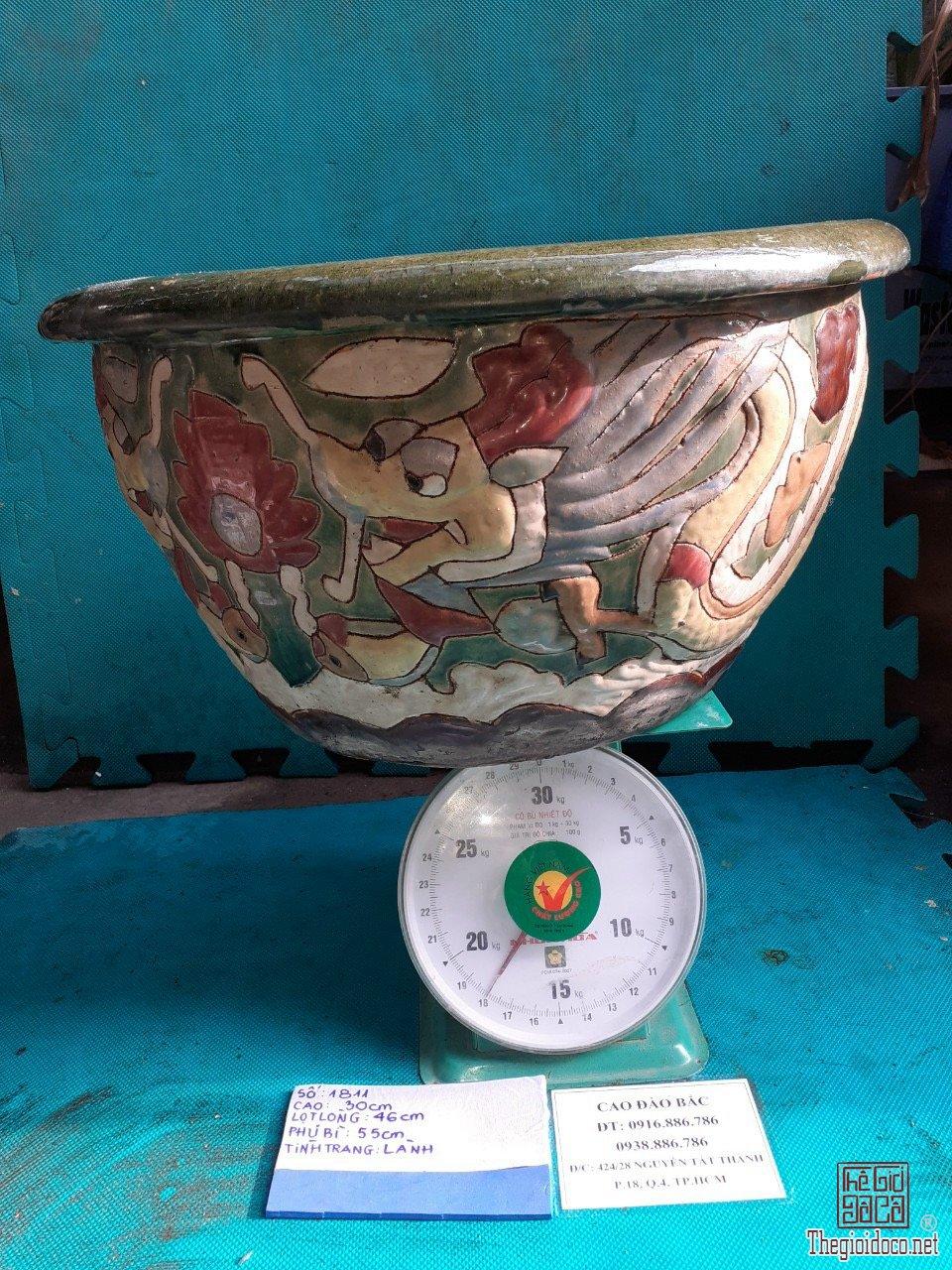 Chậu Rồng gốm Biên Hoà -MS1811