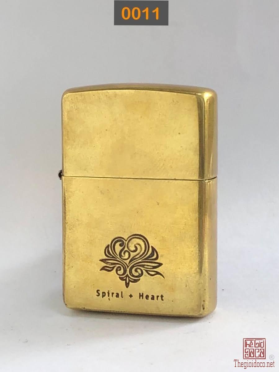0011- antique brass đáy bằng 2000