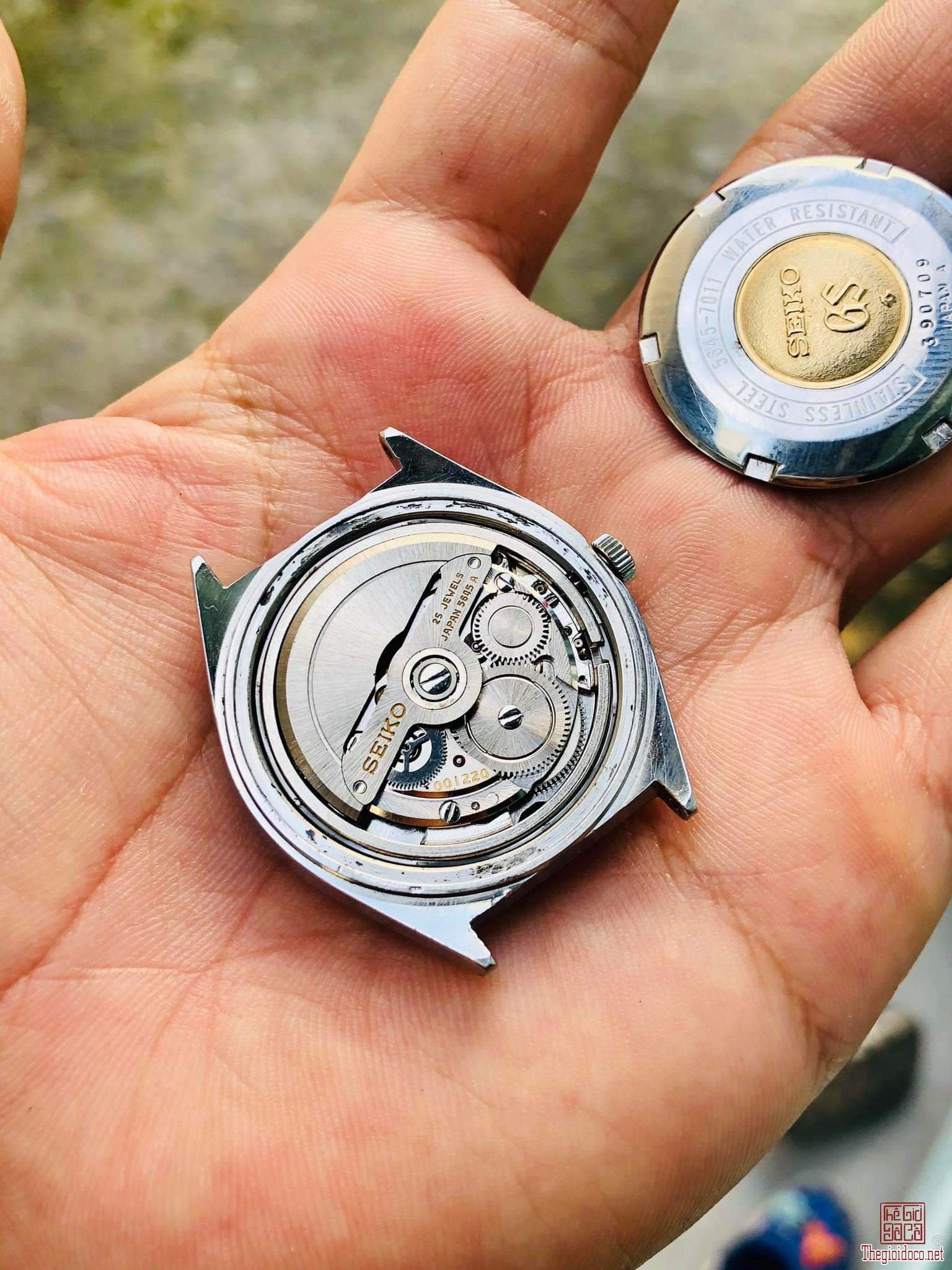 Đồng hồ xưa tự động SEIKO GS HI BEAT Nhật Bản