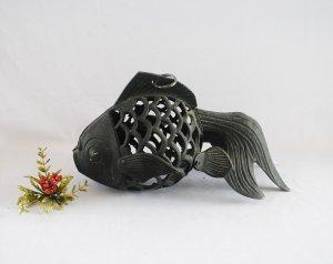 Đèn treo con cá chép, bằng sắt...