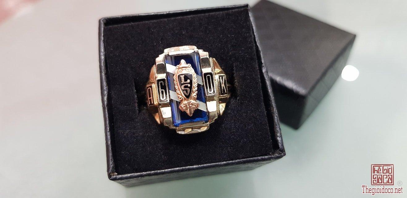 Nhẫn Xưa Vàng 10K USA