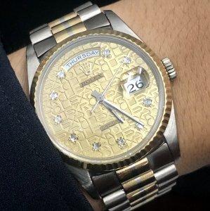 Rolex vỏ vàng đúc 3 màu phúc...