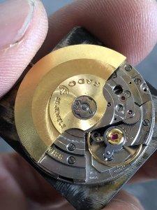 Đồng hồ Rado Manhattan đen