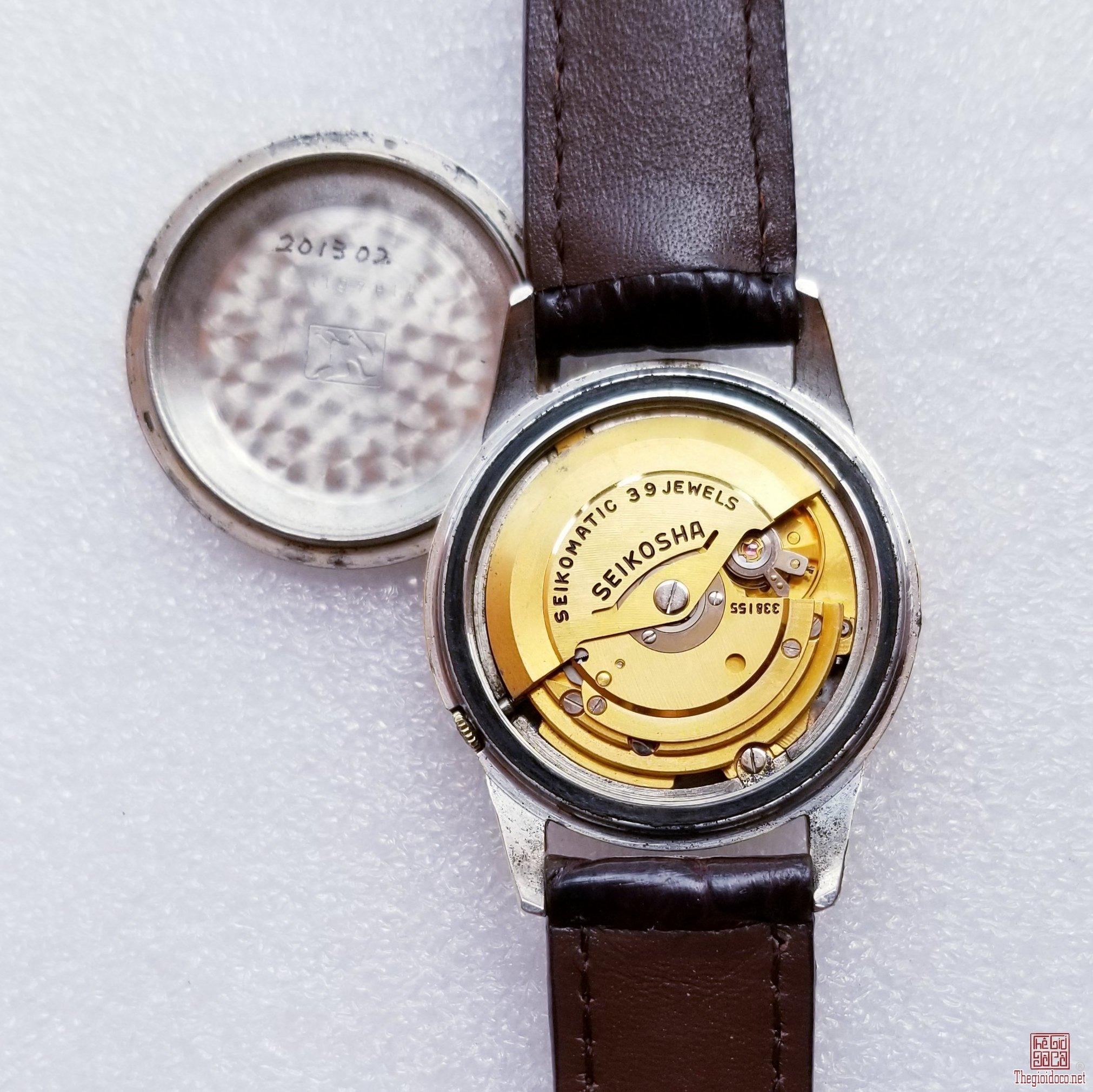 Đồng hồ SEIKO MATIC SELF DATER Tự động xưa