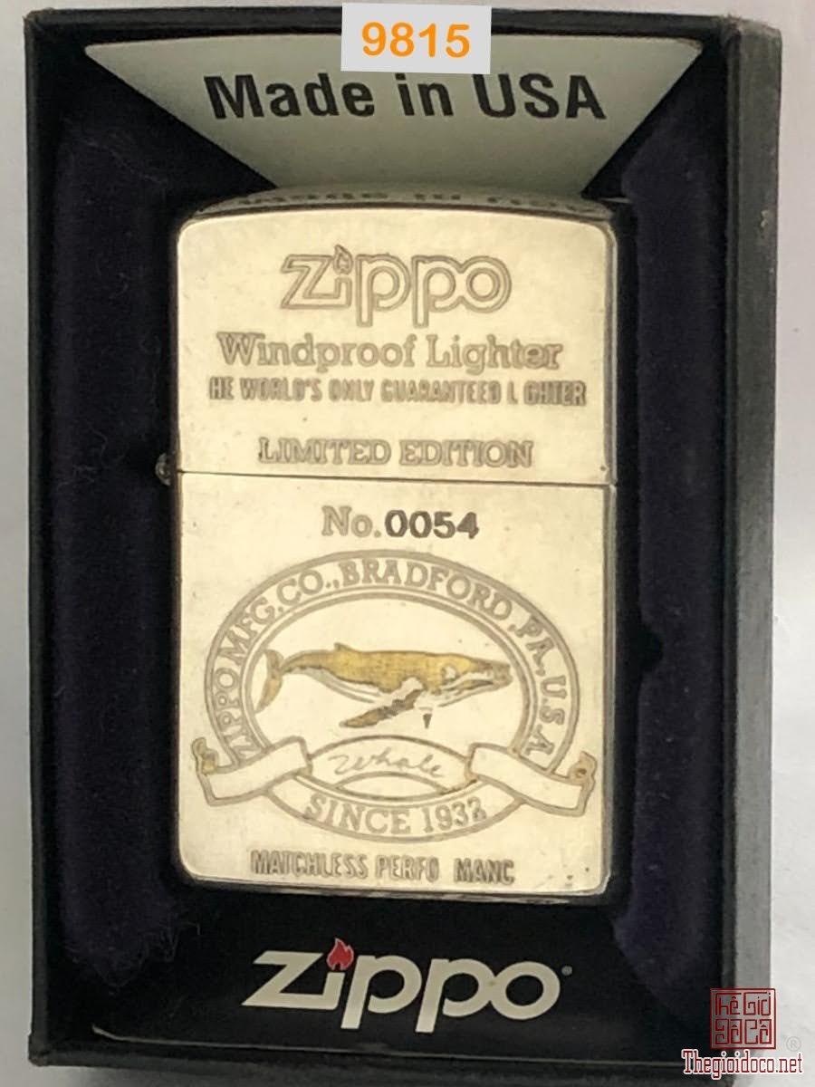 9815- mạ bạc Đáy bằng 1998 -Limited No.0054 -