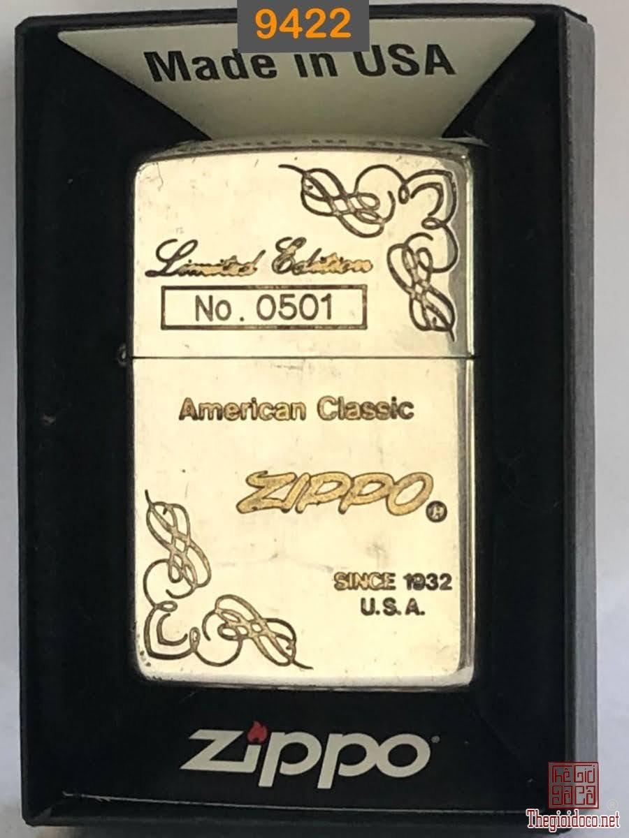 9422- mạ bạc đáy bằng 1994 Limited No.0501