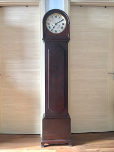 Đồng hồ cây Junghans gỗ gụ