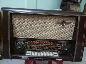 Chiếc đài radio cổ của Đức hiệu...