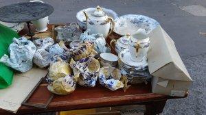 Bộ ấm chén Limoges Pháp cổ