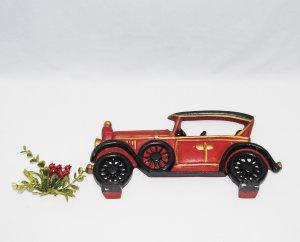 Set 4 mô hình xe cổ  bằng gang,...