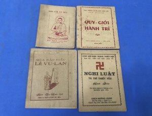 4 cuốn Kinh Phật Giáo