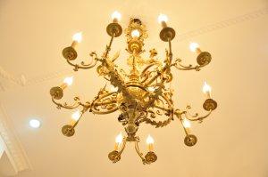 Đèn chùm Pháp cổ
