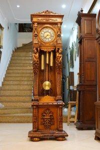 Đồng hồ tủ cây tượng Adam Eva