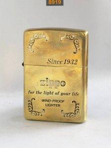 8919-brass antique chữ xéo đáy...