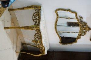 Bộ bàn gương Pháp cổ
